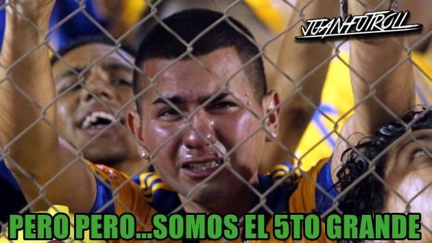 Los memes de la derrota de Tigres en Concachampions