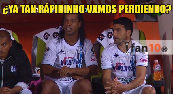Memes de los goles del Chuletita Orozco en la final Santos vs Querétaro