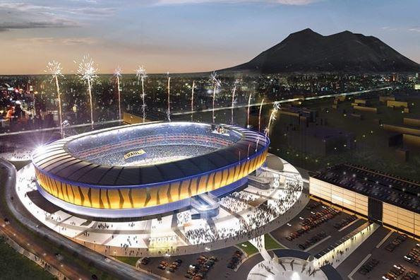 Así podría ser el nuevo estadio de Tigres