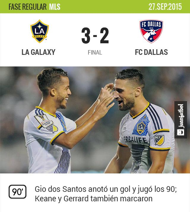 LA Galaxy 2-1 FC Dallas
