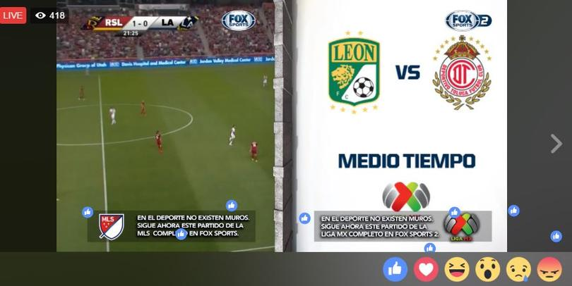 Real Salt Lake vs. LA Galaxy y León vs. Toluca