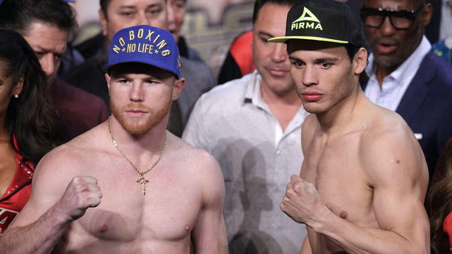 Canelo vs Chávez Jr