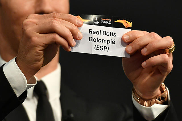 Sorteo de la Europa League