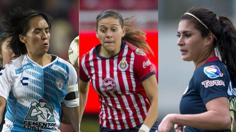 Cracks de la Liga Femenil MX