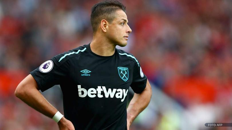 Chicharito Hernández con West Ham