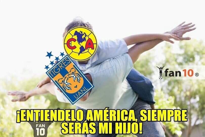 Los memes de la victoria de Tigres sobre América en la ...