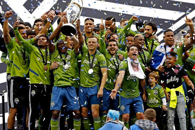 Seattle Sounders campeón de la MLS