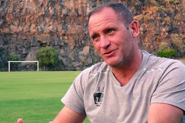 Andrés Lillini es técnico interino de Pumas