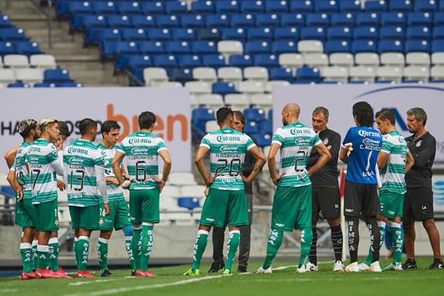 Santos anunció cuatro contagios de coronavirus entre sus jugadores