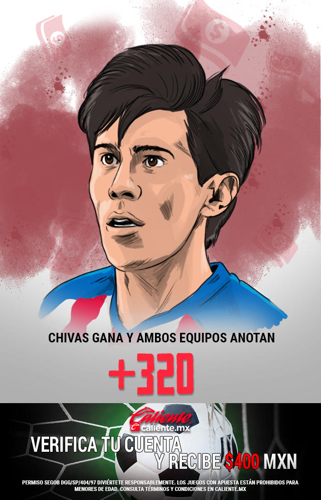 Si crees que Chivas le gana a León y ambos equipos anotan, apuesta en Caliente y llévate mucho dinero.