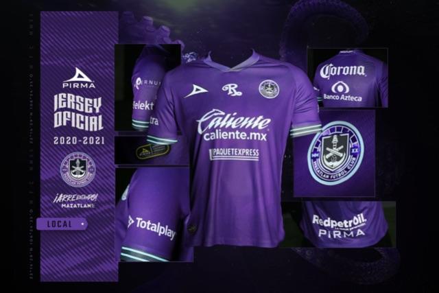 Nuevo jersey de local del Mazatlán FC