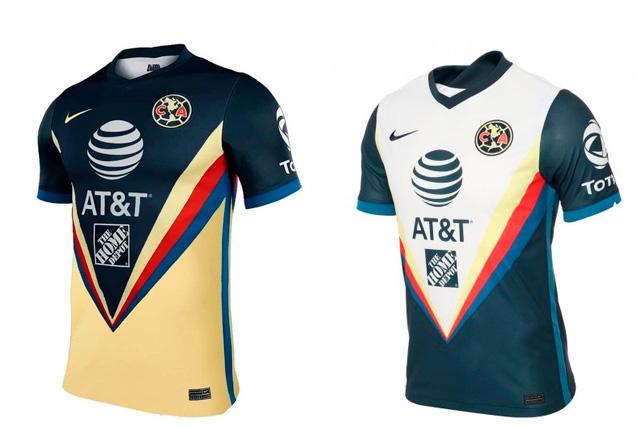 Jerseys del América 2020-21