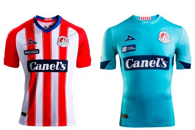 Jerseys del Atlético San Luis 2020-21