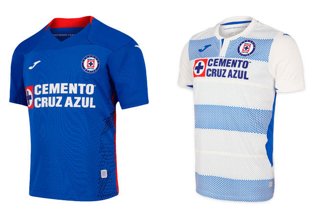 Jerseys Cruz Azul 2020-21