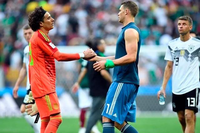 Memo Ochoa y Manuel Neuer platicaron de sus inicios en la portería