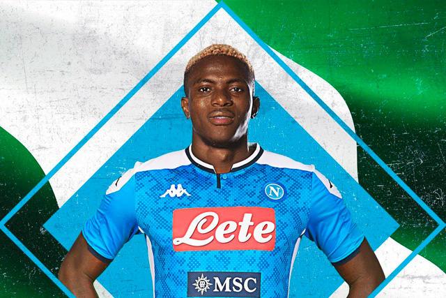 Victor Osimhen se convierte en el fichaje más caro del Napoli por encima de Chucky