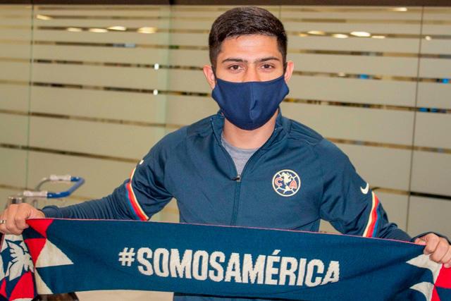 Sergio Díaz ya llegó a México para unirse al América