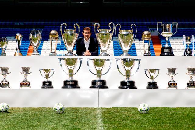 Iker Casillas está de vuelta en el Real Madrid