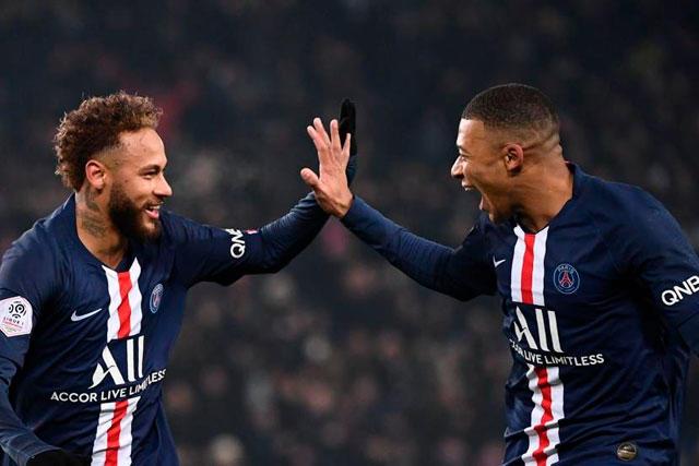 PSG busca renovar el contrato de Neymar y Mbappé que termina en 2022