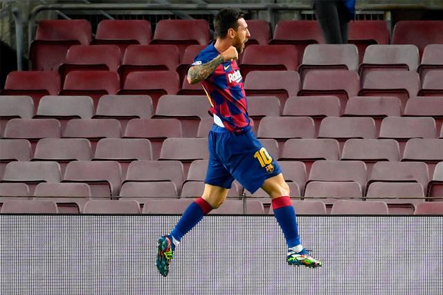 Messi se rifó una joya de gol