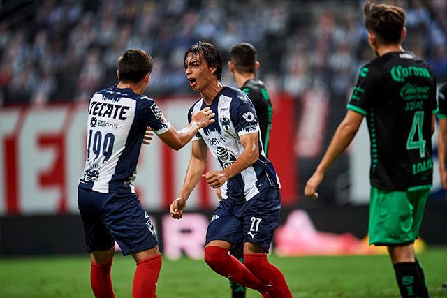 Monterrey empató de último minuto con gol de Parra