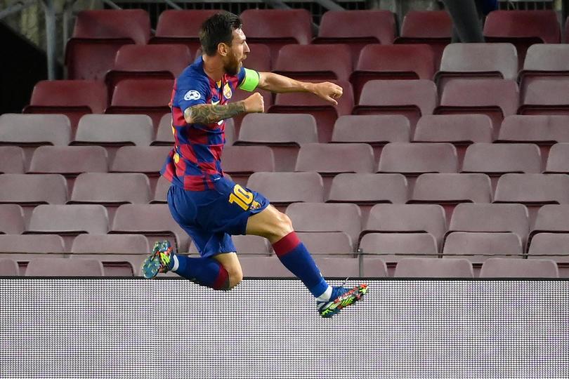 El discurso de Messi que inspiró al Barcelona a ganarle al Napoli.