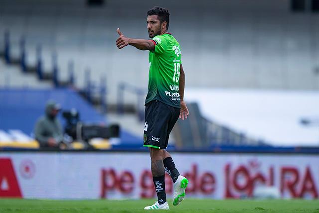 Maximiliano Olivera se rifó un golazo de tiro libre para el empate de Juárez