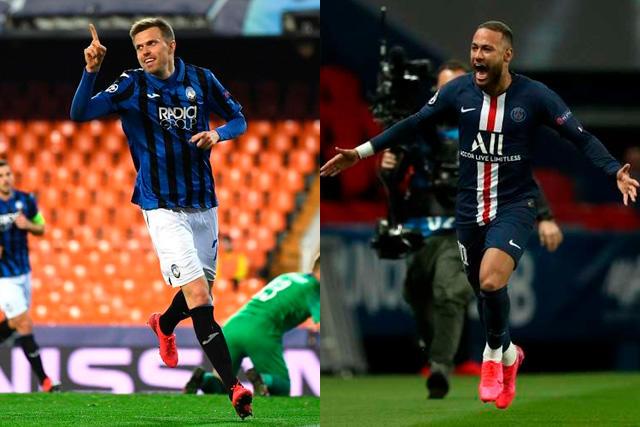 Atalanta y PSG abren los cuartos de final de la Champions League