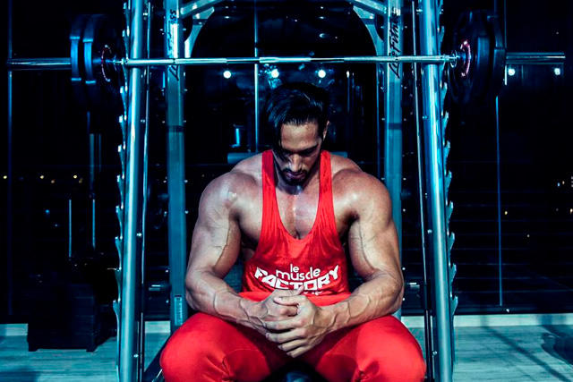 Amadeo Montero, el futbolista-fisicoculturista