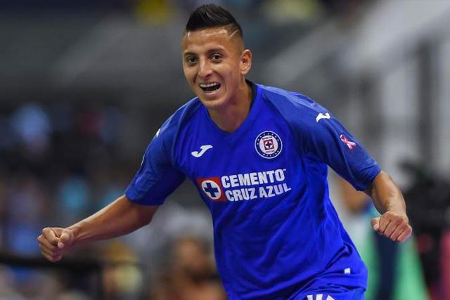 Roberto Alvarado se rifó un golazo con la Sub-20 de Cruz Azul