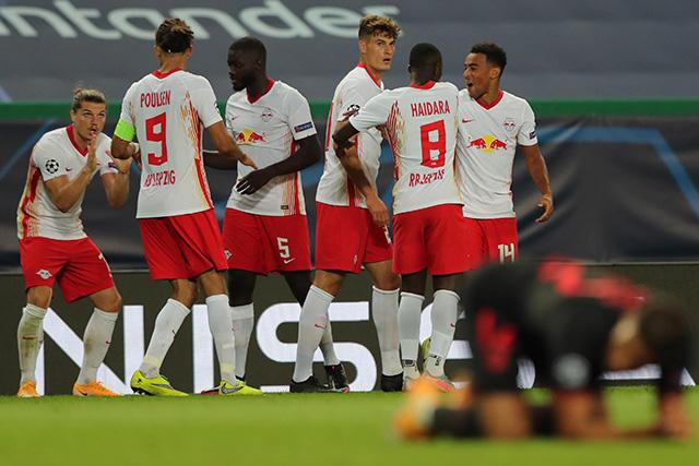 Leipzig vence 2-1 al Atlético y está en semifinales de Champions League