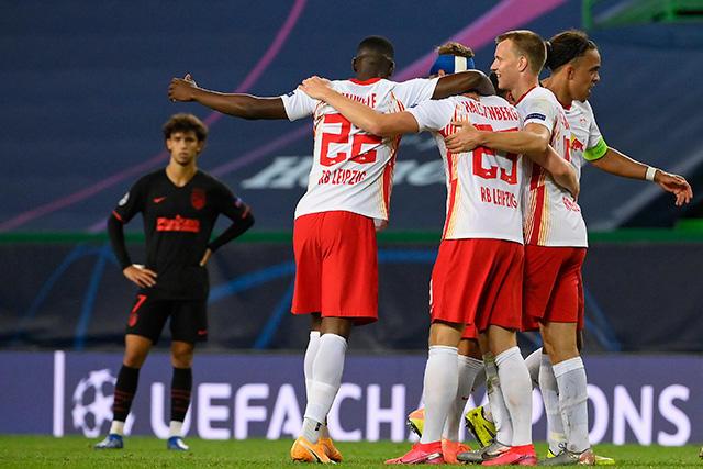 Leipzig eliminó al Atlético de la Champions League