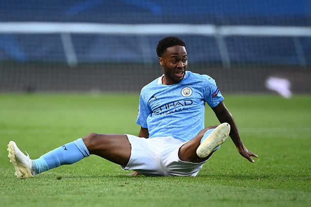 Raheem Sterling tuvo un error increíble que pudo cambiar la historia para el Manchester City