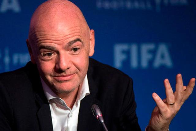 Los millonarios ingresos de Infantino por ser presidente de la FIFA