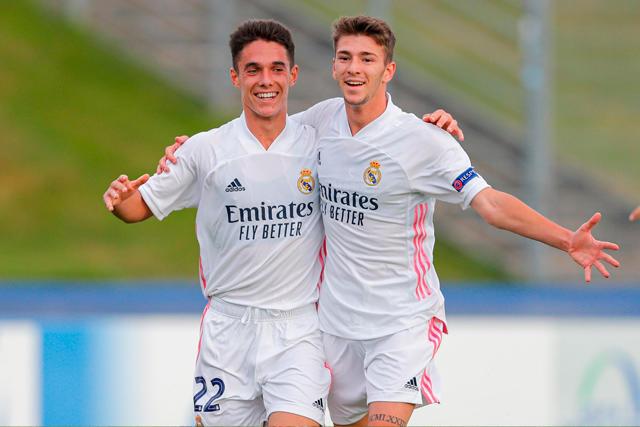 Real Madrid es campeón de la Youth League por primera vez en su historia
