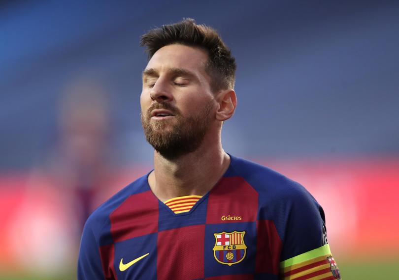 Messi en Barcelona