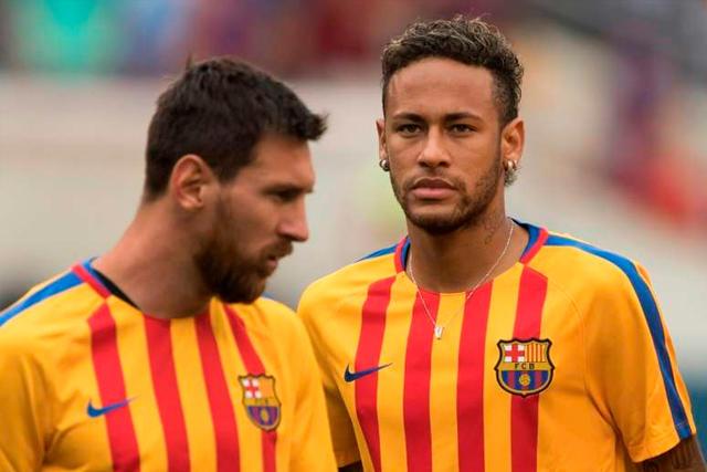 Messi y Neymar podrían reencontrarse en el PSG