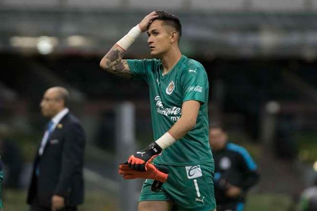 Raul Gudiño regaló un gol con la Sub-20 de Chivas