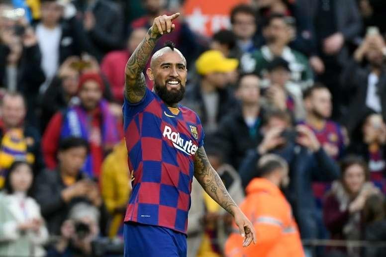 Vidal reiteró que le gustaría jugar en el América.
