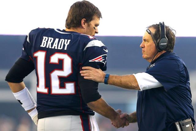 Tom Brady y Bill Belichick