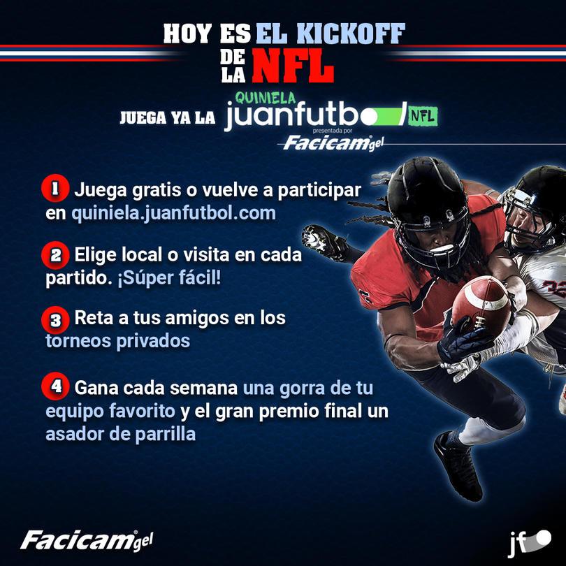 Quiniela juanfutbol NFL by Facicam