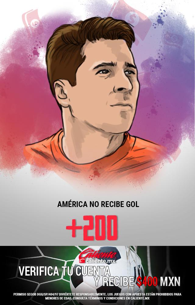 Si crees que América gana y Toluca no anota gol, apuesta en Caliente y llévate mucho dinero.