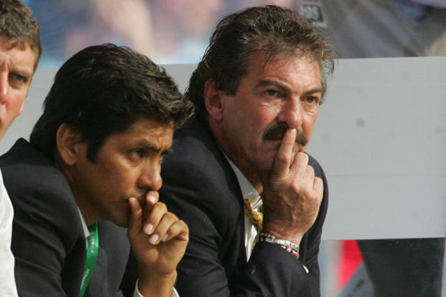 Jorge Campos y Ricardo La Volpe