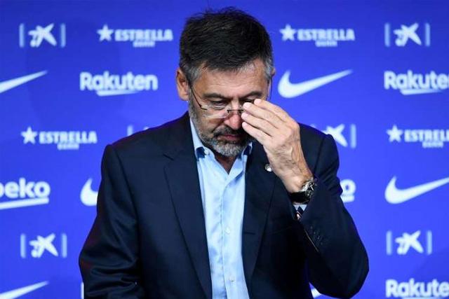 Josep María Bartomeu podría dejar la presidencia del Barcelona tras avanzar la moción de censura