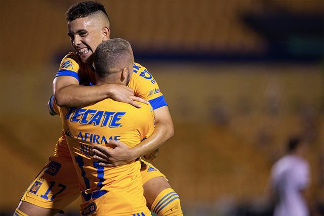 Tigres goleó 3-0 a Querétaro