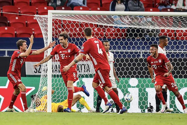 El Bayern se llevó la Supercopa de Europa 2-1