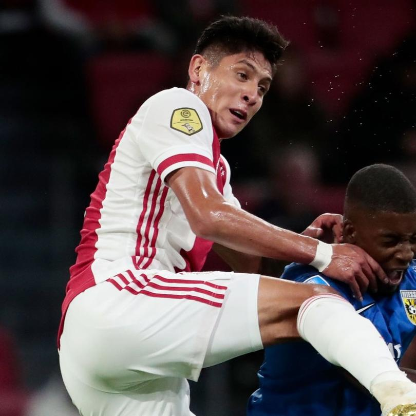Edson Álvarez contra Vitesse