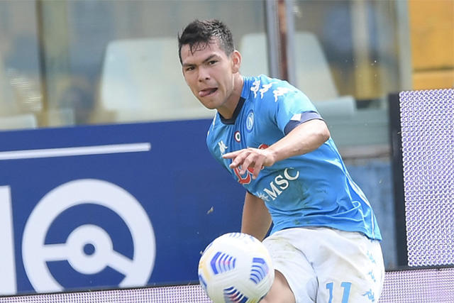 Chucky Lozano y el Napoli ya conocen a sus rivales de Europa League