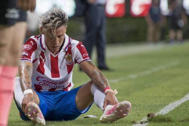 Cristian Calderón, lesionado durante el miniciclo del Tri Sub-23