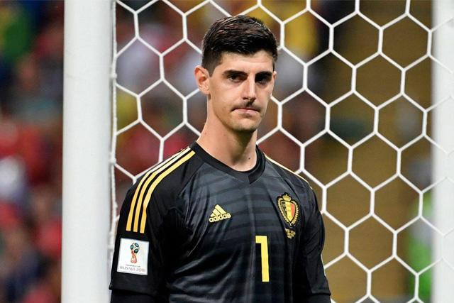 Thibaut Courtois es baja con la Selección de Bélgica